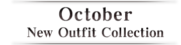 October New Outfit Collection 2013