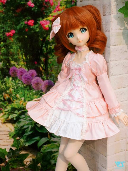 0d5e6b63b7d97 モデル:DDP(S胸)高槻やよい(ノーマル肌) ドレス:プリンセスワンピース・ミニ