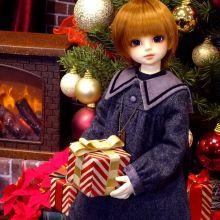 撮影スペース&店内装飾がクリスマスになりました!