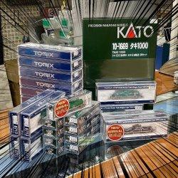 TOMIXから仙台臨海鉄道のSD55が発売! KATOとTOMIXのタキ1000も揃ってます☆