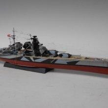 お客様のスケールモデル作品紹介 『H級戦艦 フッテン』